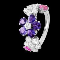 拥有这些彩色戒指 让你理直气壮当达人!